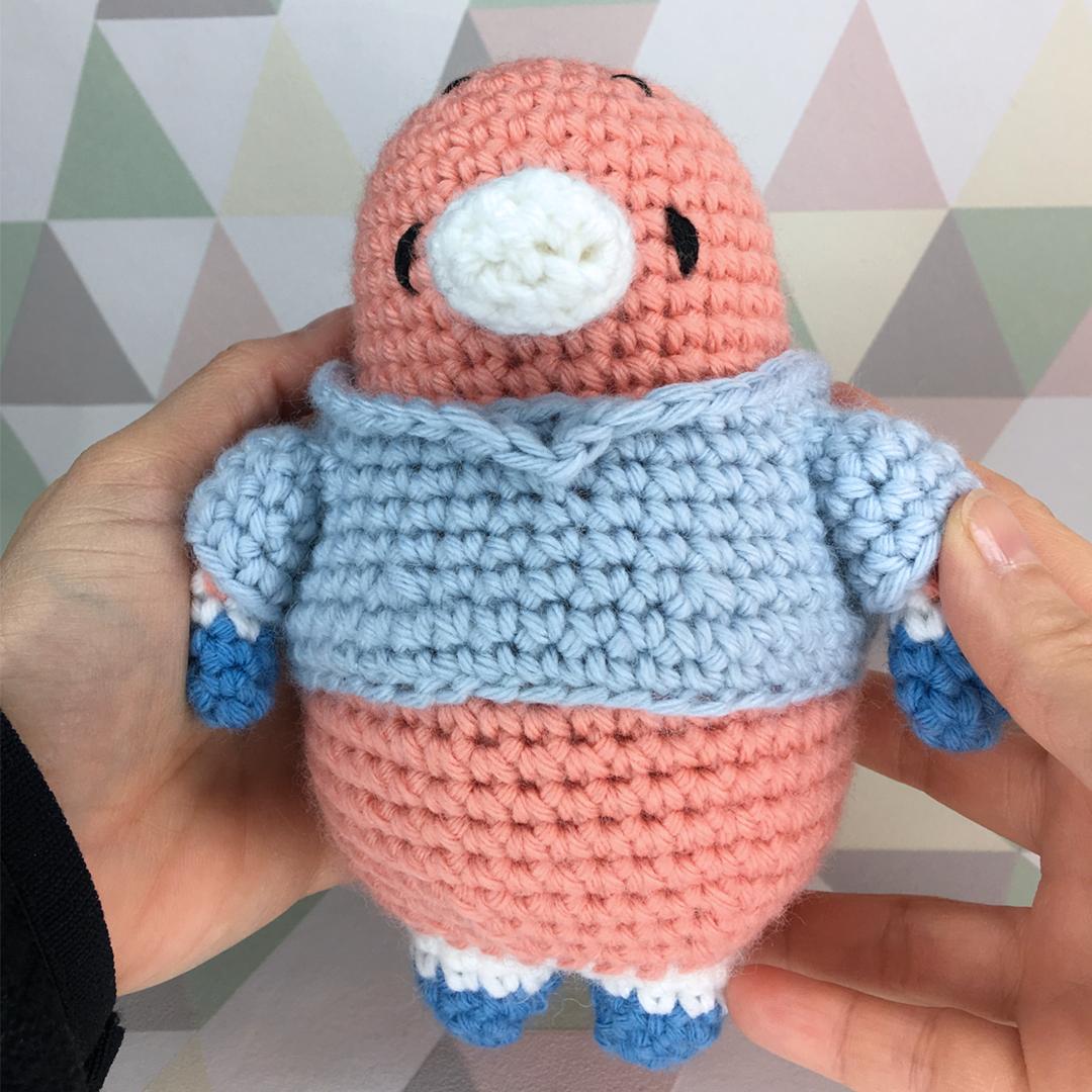Dou bébé ornithorynque patron au crochet