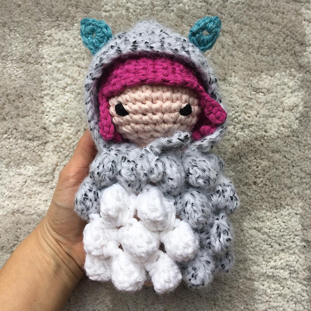 Nephelia patron au crochet