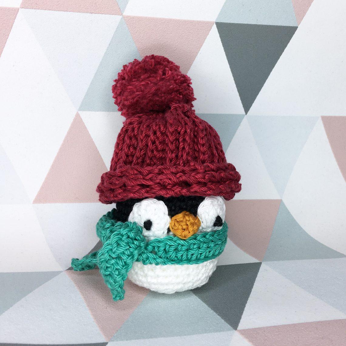 Amy Design Crochet pingouin patron au crochet