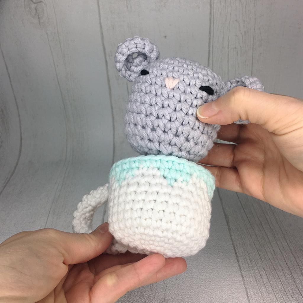 Amy Design Crochet Sencha la souris