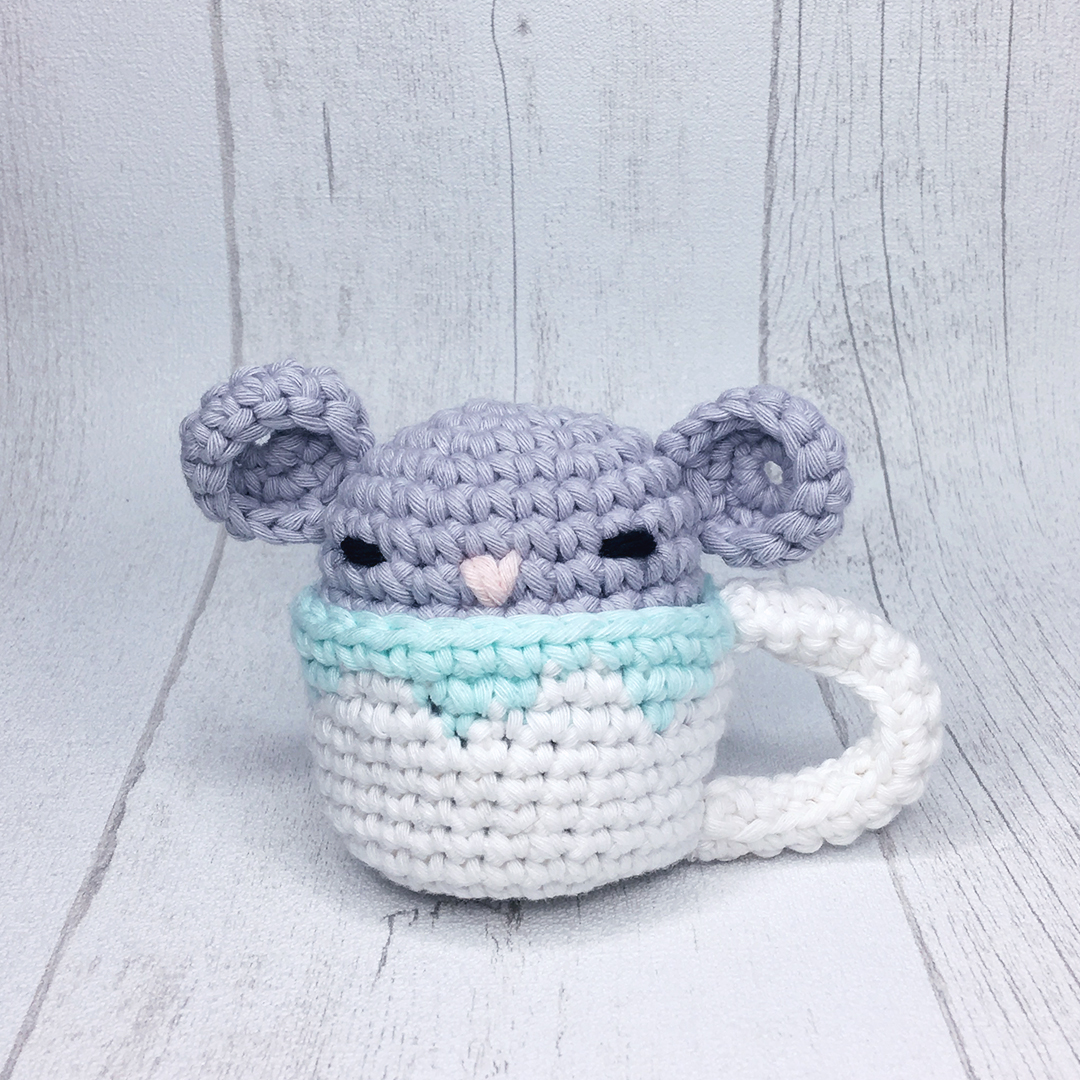 Amy Design Crochet Sencha la souris patron au crochets