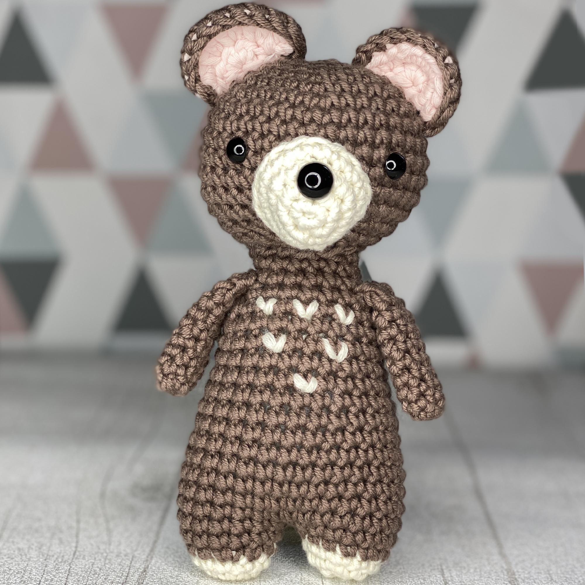 Amy Desihn Crochet - Marcel patron au crochet